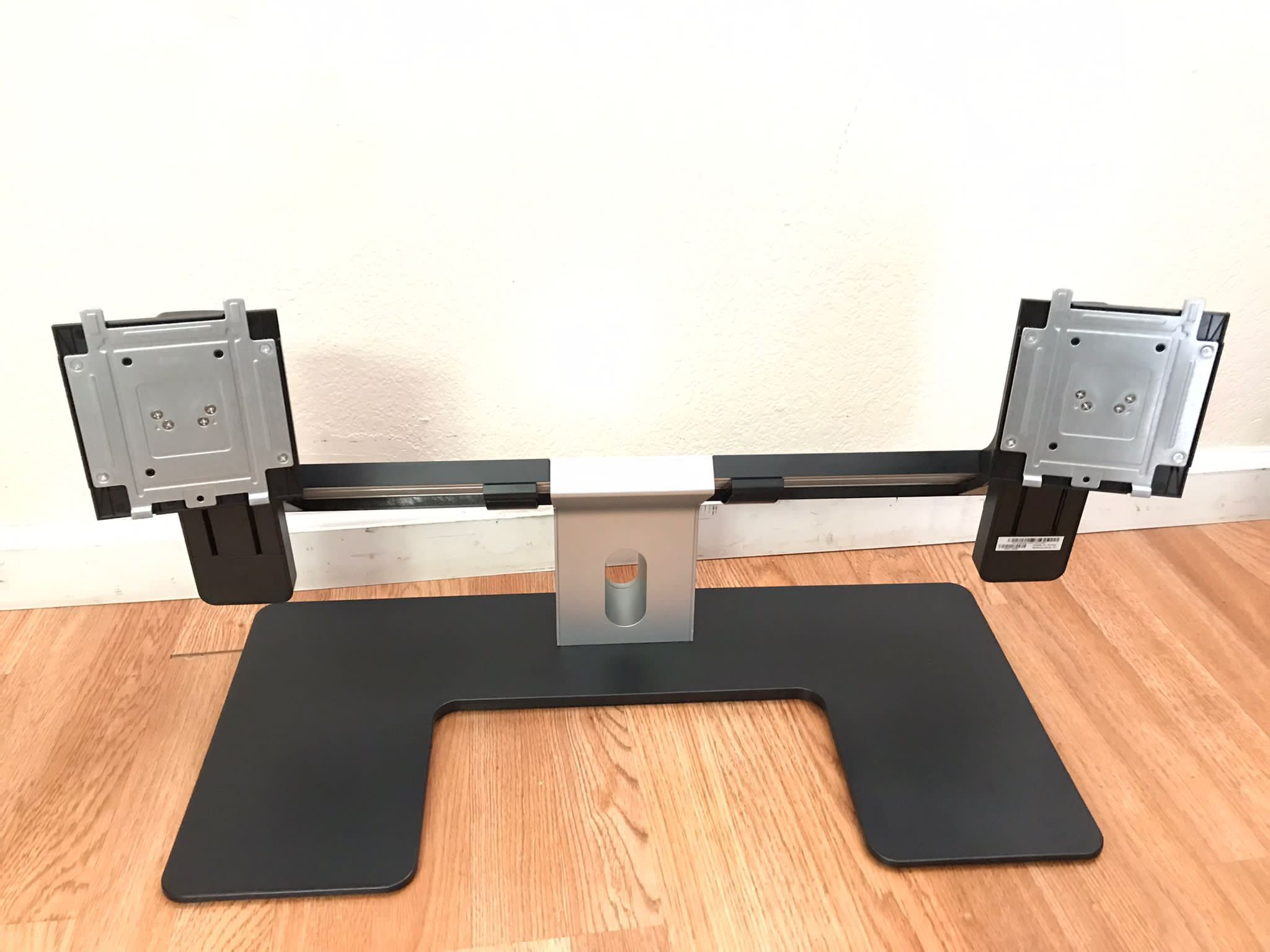 """Dell-IMSourcing MDS14 Dual Monitor Stand (contact info removed) 9"""" x 30"""" x 19.5"""""""