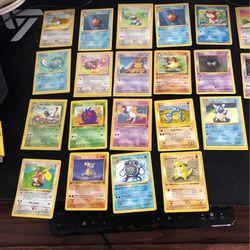 Pokemon First Edition Pokemon Cards Thumbnail