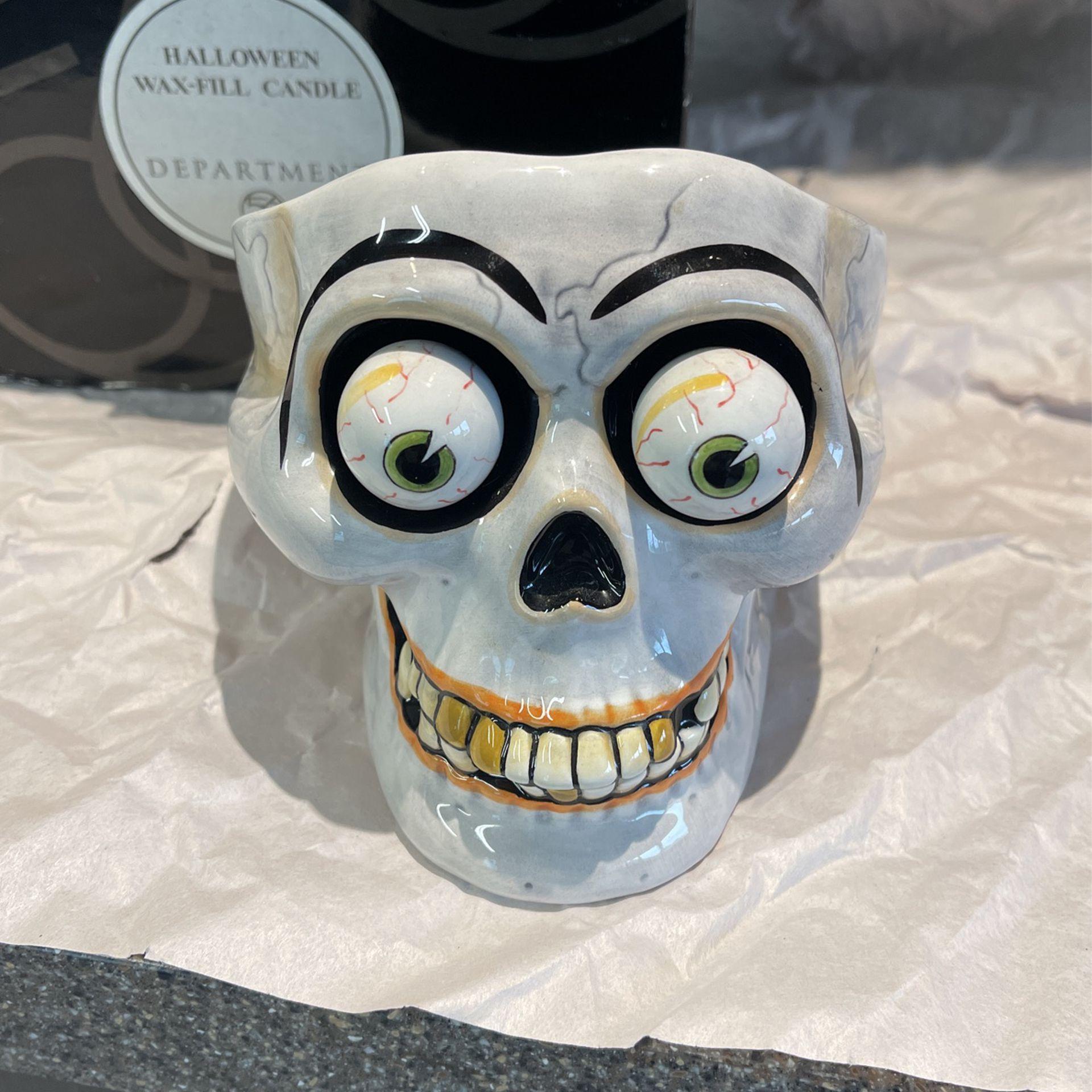 Halloween Decoration Skeleton Head