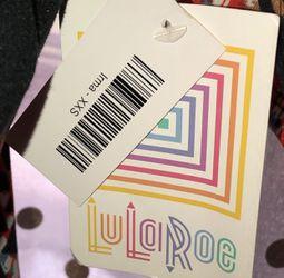 NWT LuLaRoe Irma Size XXS Shirt  Thumbnail