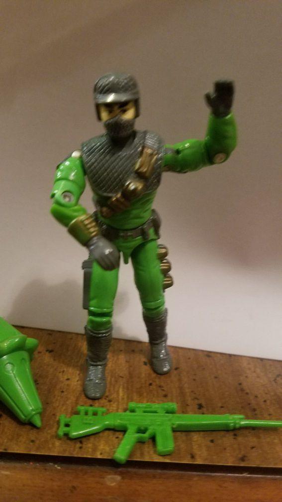 Cobra Firefly (v2) action figure from the 1992 GI Joe line.