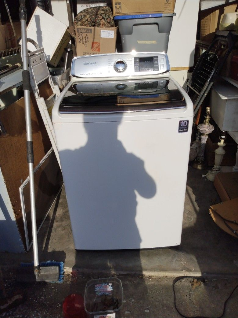 Good Working Samsung Washer And Dryer