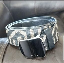 REAL MENS GUCCI BELT. SUPREME LEATHER  424674 SIZE 110-44   GREAT CONDITION  Thumbnail