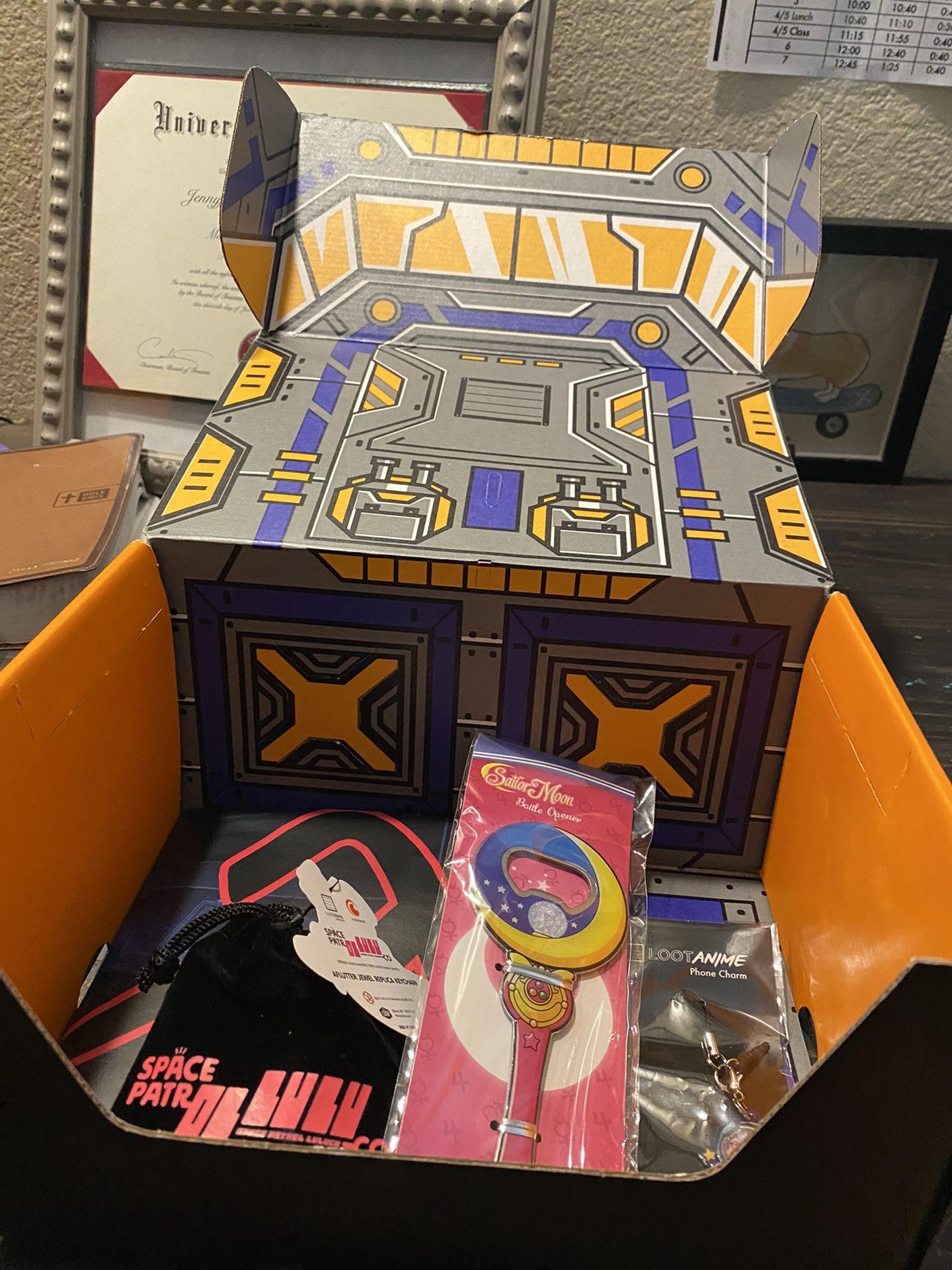 Sailor moon lot crate