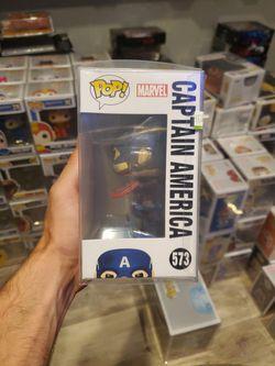 Funko Pop! Marvel Avengers Captain America 573 Thumbnail
