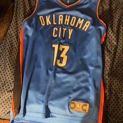 NBA Paul George OKC Jersey Thumbnail