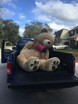 "93"" Super Soft Stuffed Teddy  Bear Thumbnail"