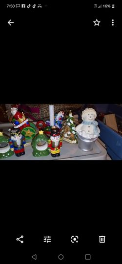 Assorted Christmas decorations Thumbnail