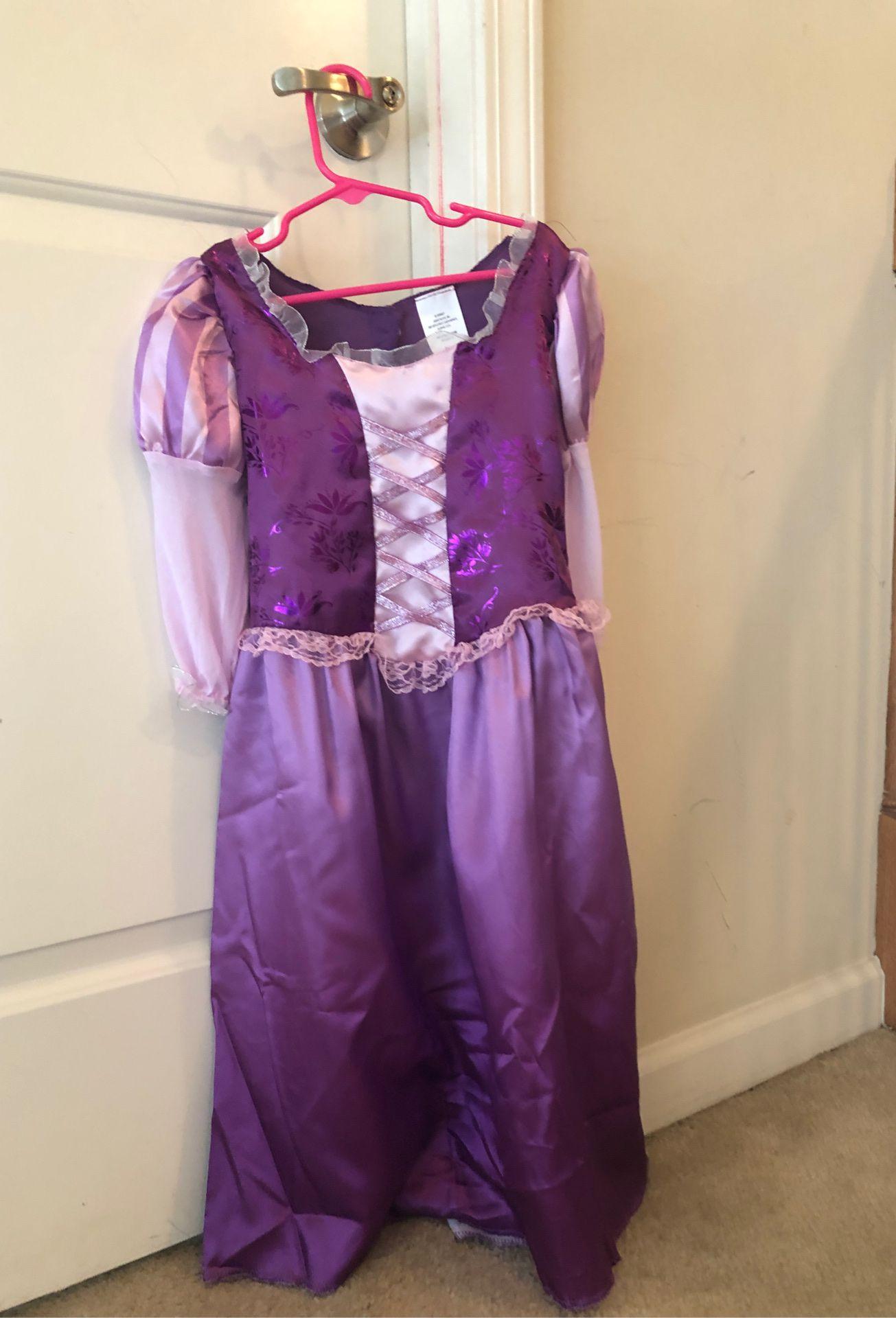 Rapunzel costume for Halloween