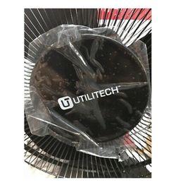 utilitec 12-Inch Three-Speed Oscillating Desk Fan New Thumbnail