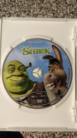 Shrek 1 and 2 DVDs Thumbnail