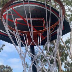 Basketball Hoop With Basketball  Thumbnail