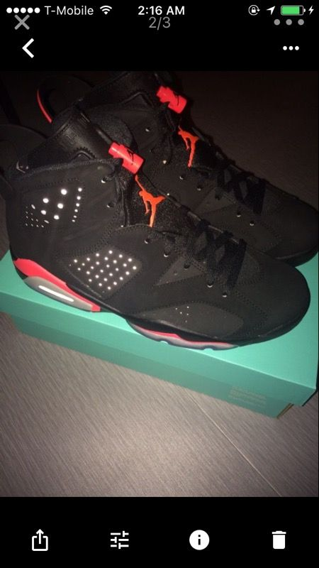 Jordan 6 Infrared DS