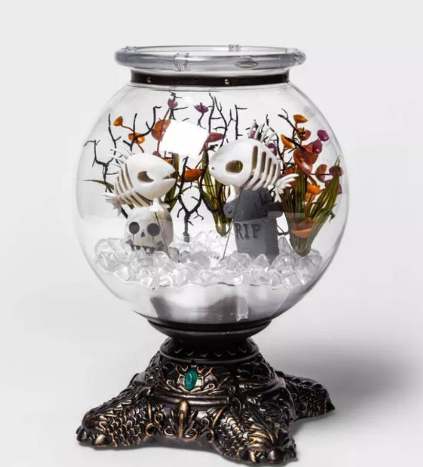 Halloween Animated Decorative Fishbowl - Hyde & EEK! Boutique Halloween Animated Decorative Fishbowl - Hyde & EEK! Boutique