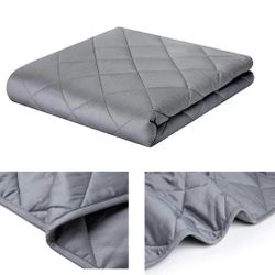 Weighted Blanket - High Breathability - 48''72'' 15LBs - Premium Heavy Blankets - Calm Sleeping for Adult and Kids, Durable Quilts and Quality Constru Thumbnail