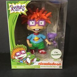 Nickelodeon Just Play - Rugrats Chuckie Collectible Figure (Brand New) Thumbnail