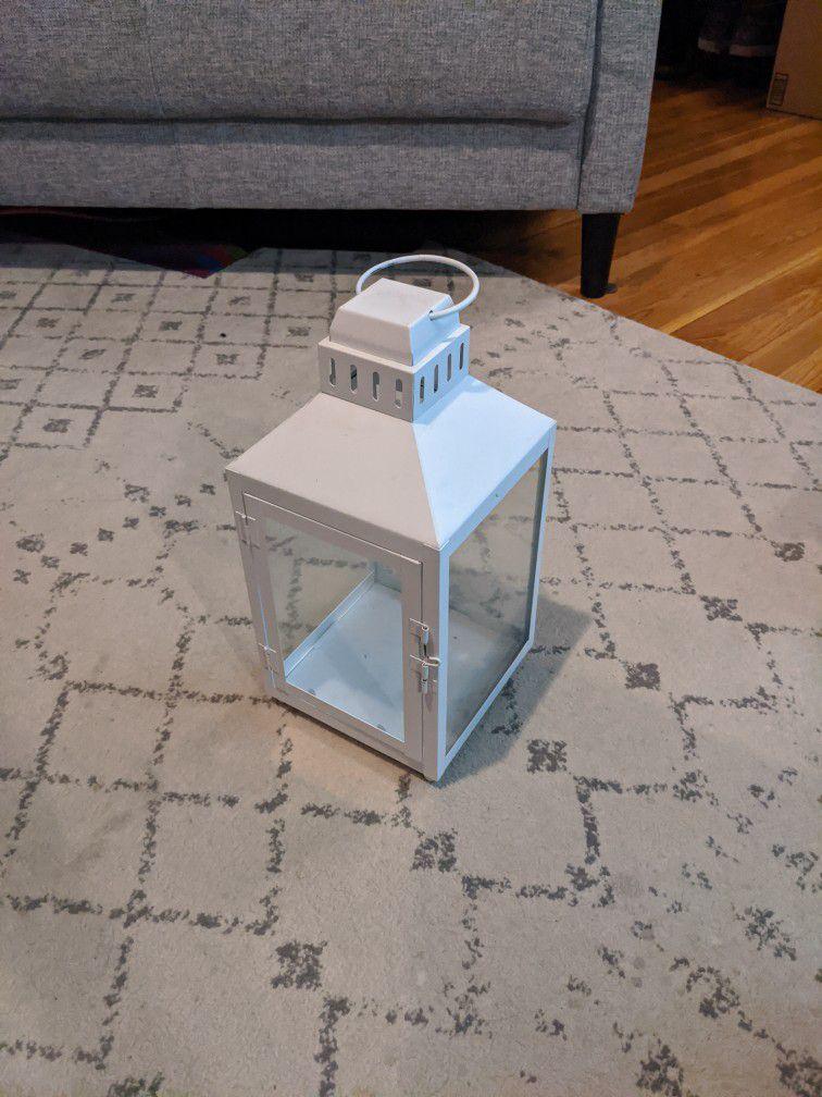 15 Inch By 6.5 Lantern Glass Sides Latch Dopr