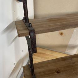Industrial Style Shelving & Towel Bars Thumbnail