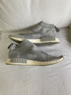 Adidas NMD CS1 Light Grey Size 14 Men City Sock Boost PK Prime knit Thumbnail