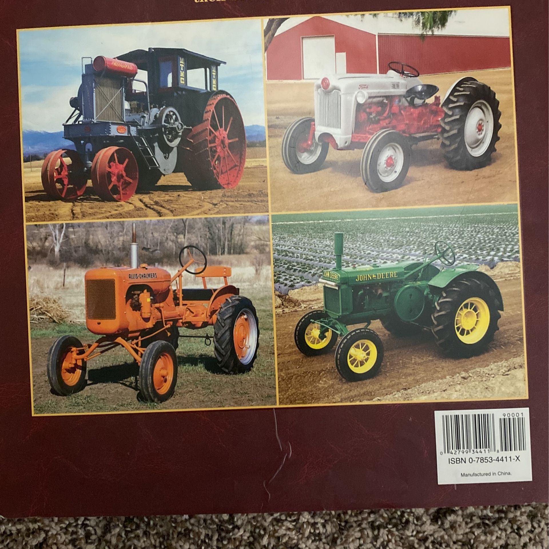 Tractor book classic in collectible  tractors