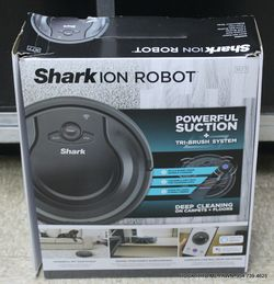 Shark ION Robot Vacuum R77 120min Runtime Wi-Fi BotBoundary NEW Thumbnail