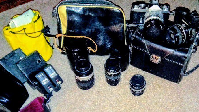 ISO  '70s UnUsed Camera Gear