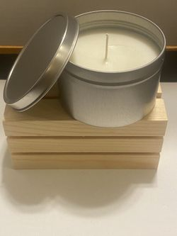 Hand Poured 8oz Candle(You pick scent) Thumbnail