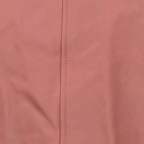 G By Giuliana Women's Sz M Genuine Leather Moto Jacket Pink 669222