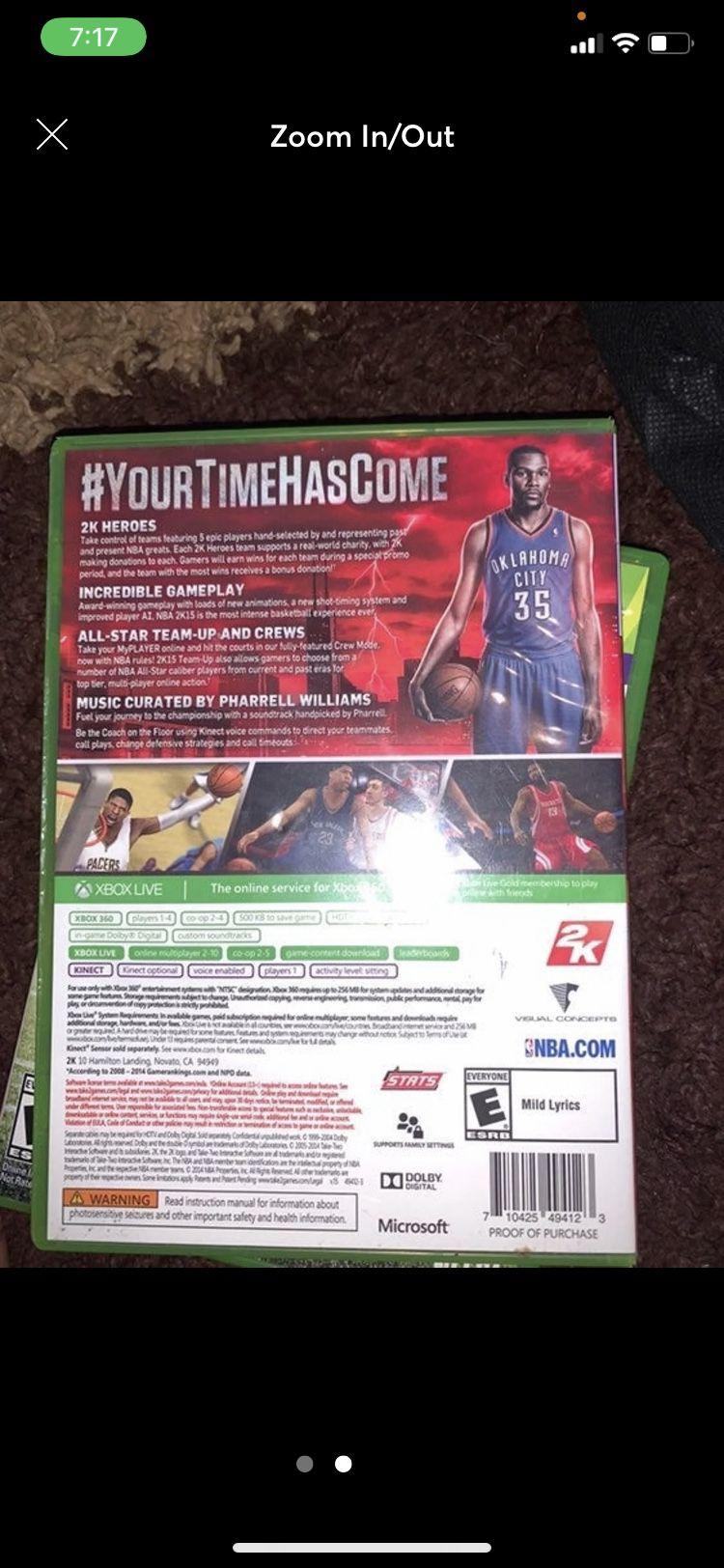 NBA 2K15 on Xbox 360