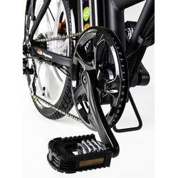 GreenBike Electric Motion City 350W 48V Folding Electric Bike - BLACK/SILVER Thumbnail