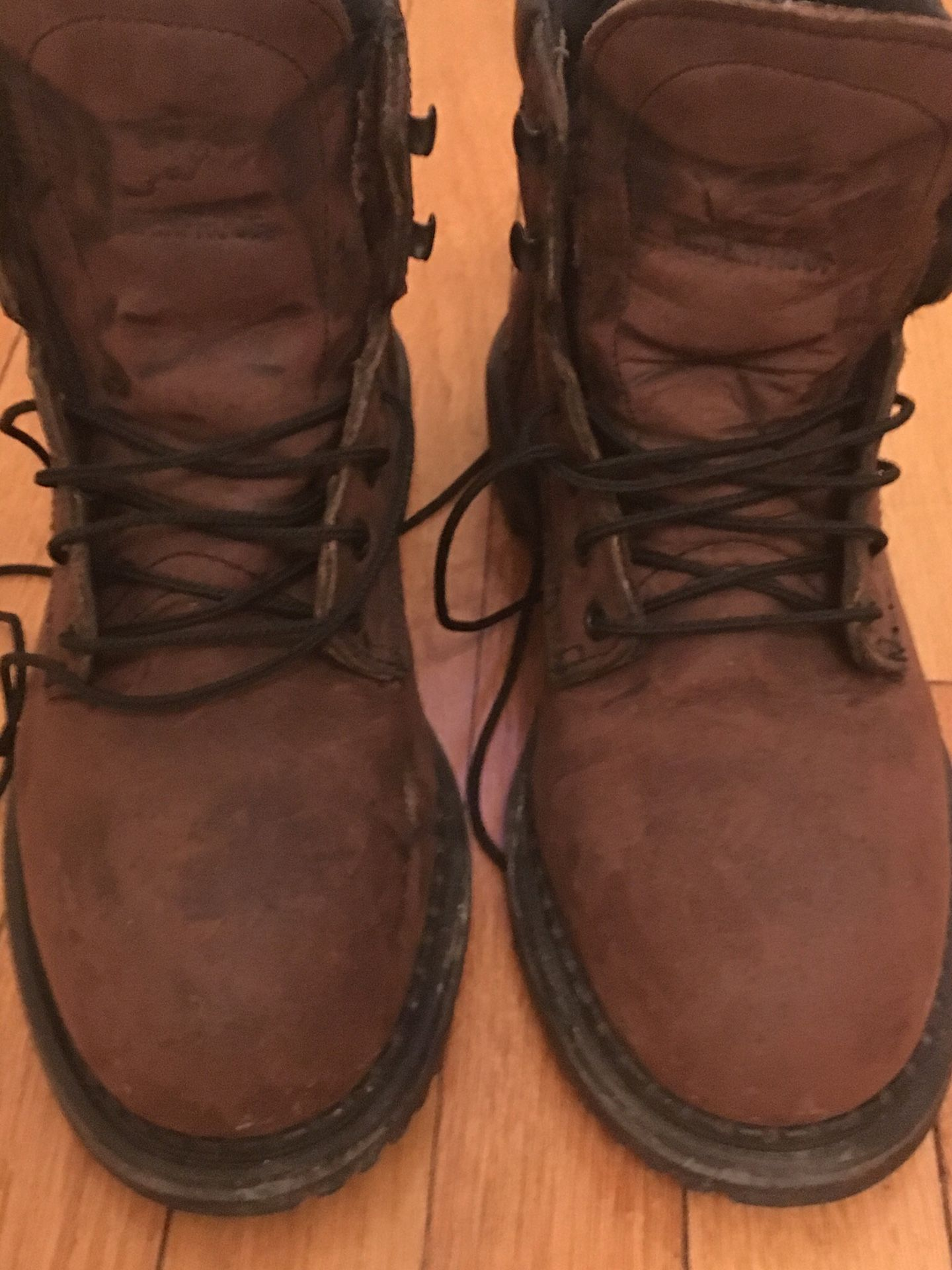 Redwing insulated EH work boots with steel toe