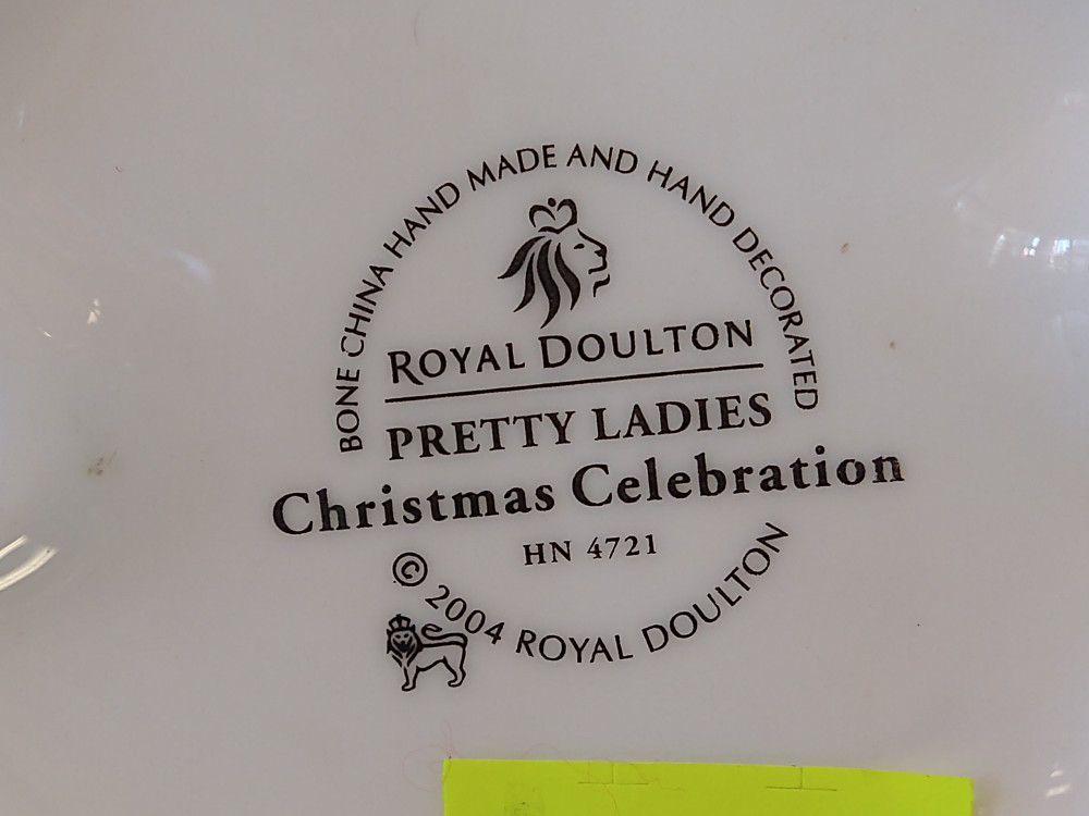 Royal Doulton Pretty Ladies Christmas Celebration 2004