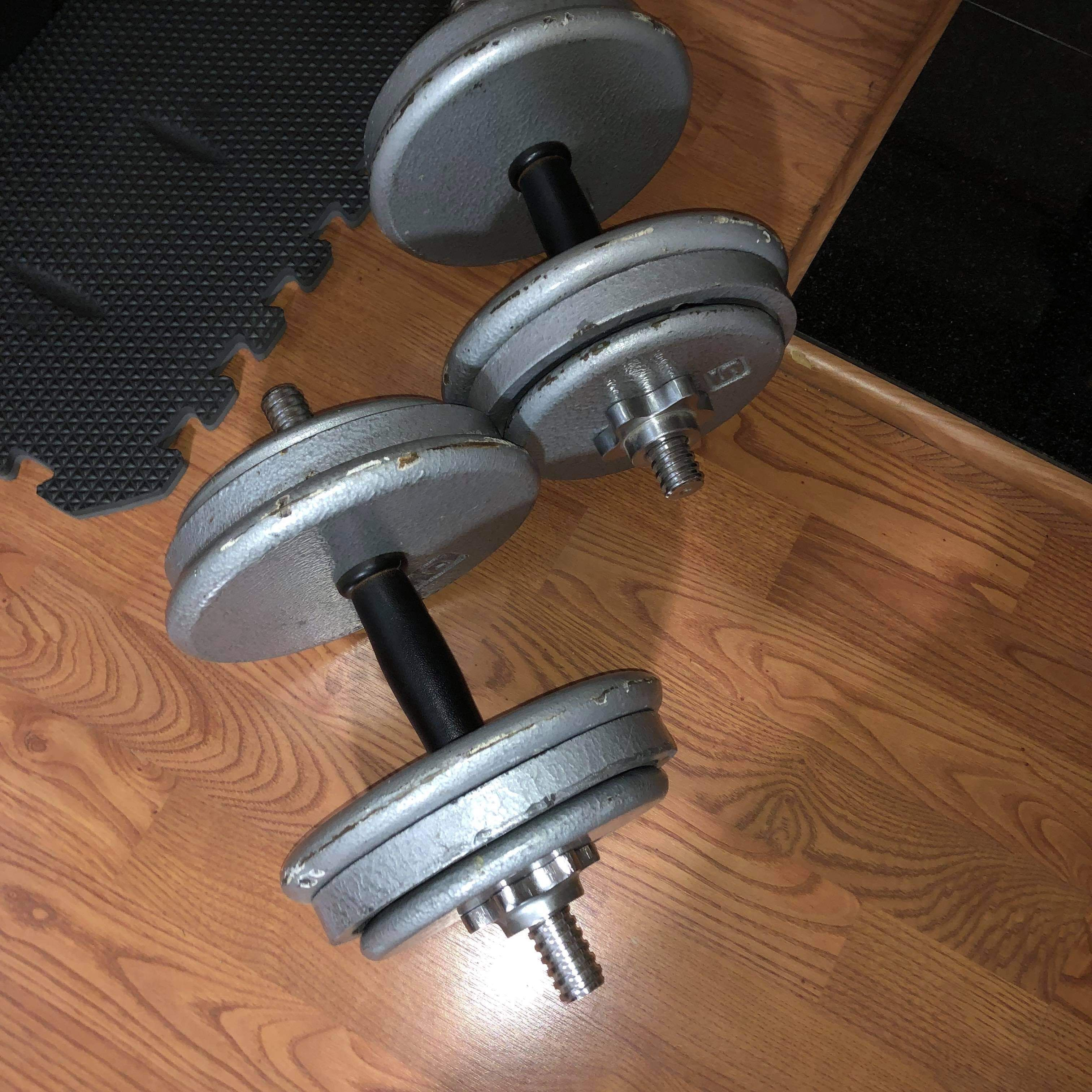 45lb Adjustable Dumbbells