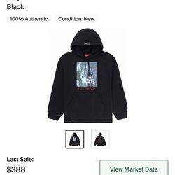 Supreme x The crow hoodie  Thumbnail