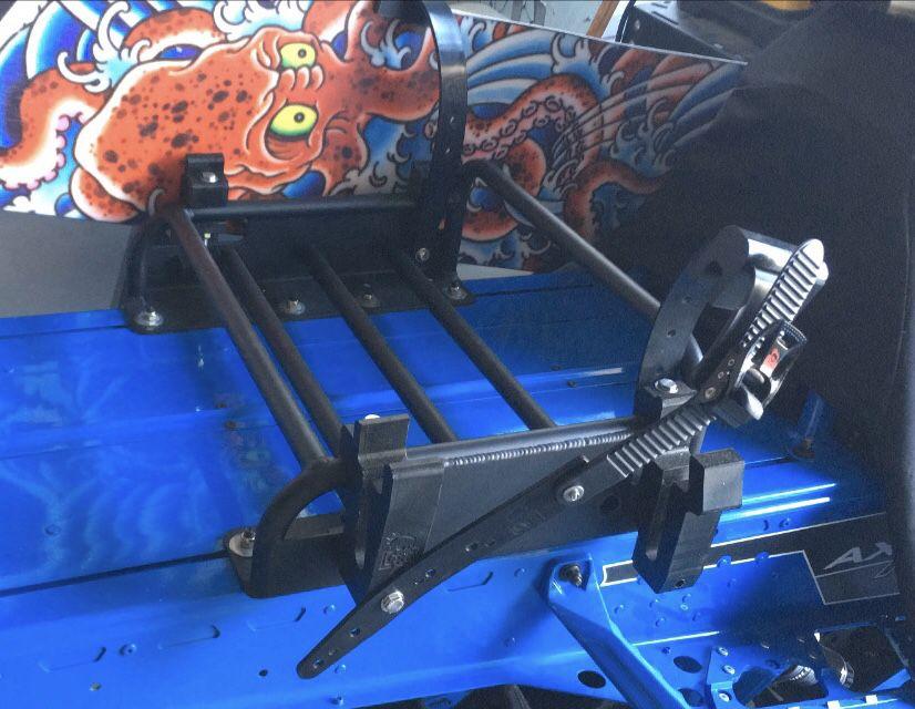 """""""CFR"""" Cheetah Factory Racing Dual Snowboard / Ski Rack"""