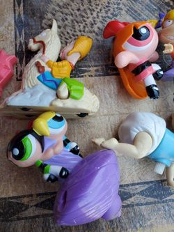 90's Rugrats Power Puff Girls Vintage Toy Lot #110 Red Thumbnail