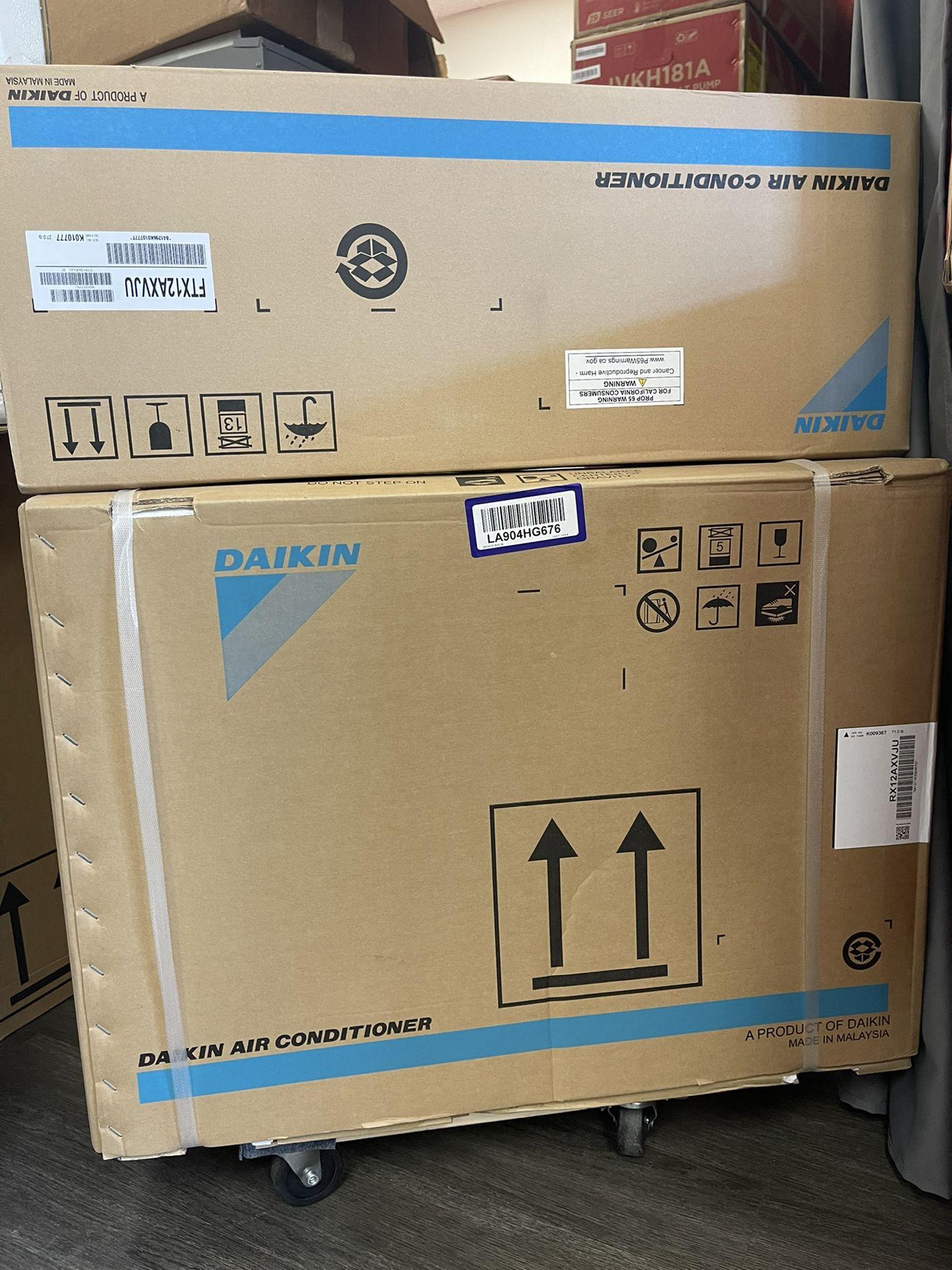 Daikin 19 series 12000BTU 1 Ton Mini Split AC Heat Pump System