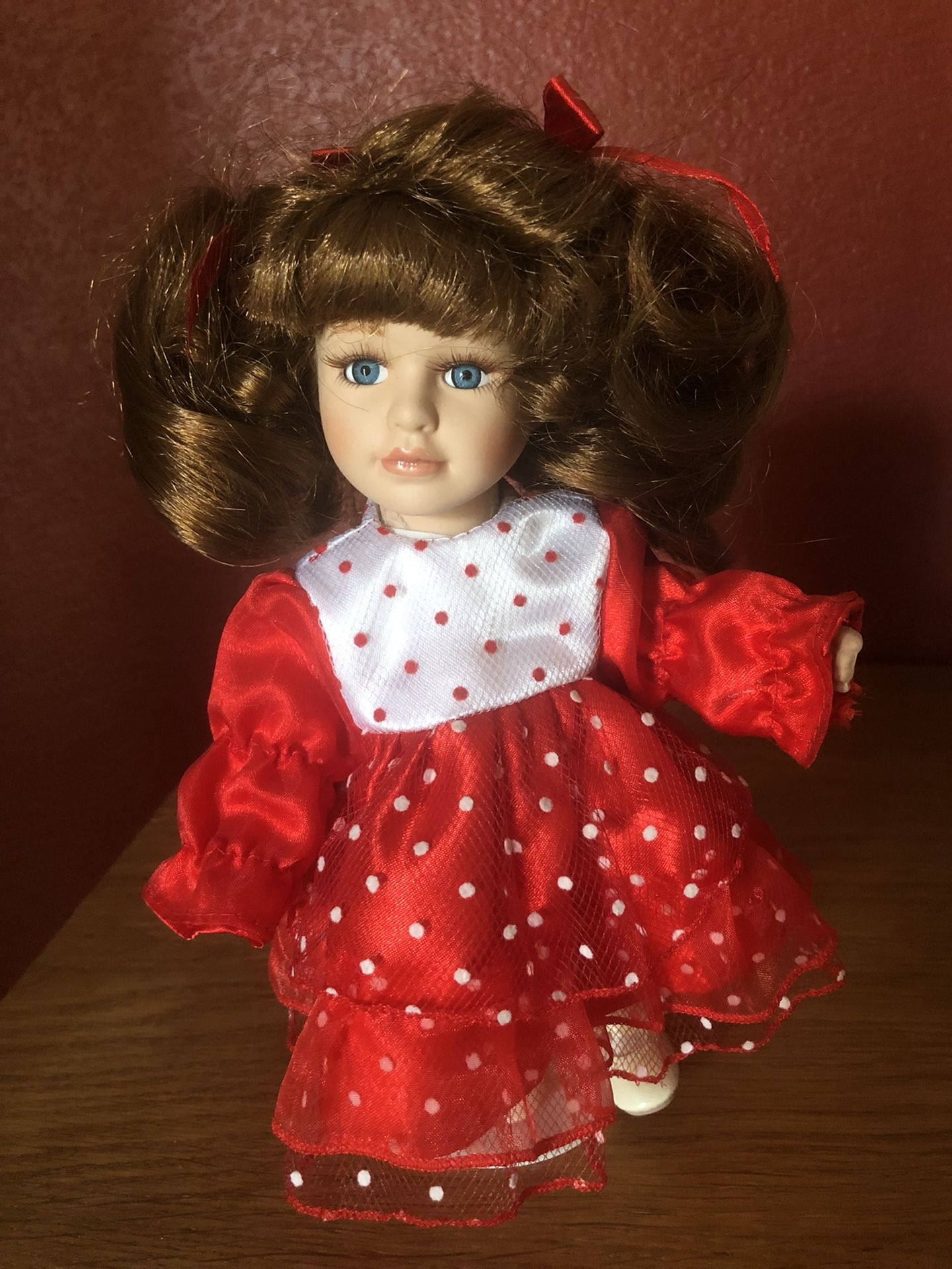 """Porcelain Dolls 16 """" and 6""""  tall"""