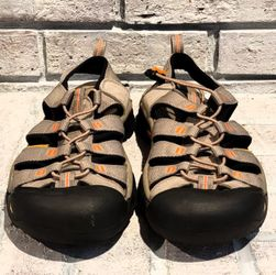 KEEN 1012203 Newport H2 Brindle Sunset Mens 8 Waterproof Hiking Sandals Shoes Thumbnail