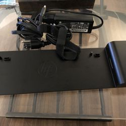 HP Docking Station With AC Adapter Thumbnail
