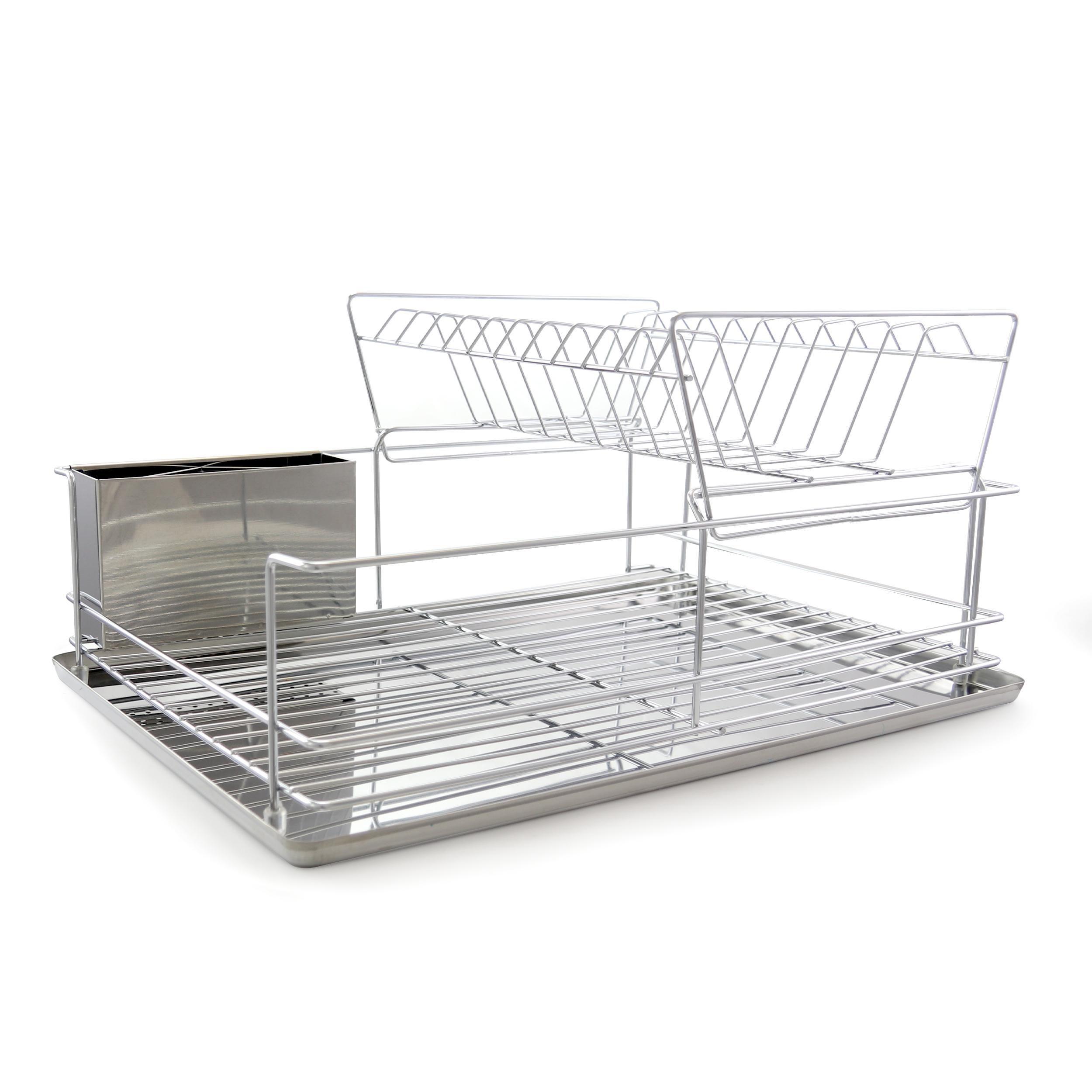"Better Chef 4 Piece 18.5"" Dish Drying Rack Set"