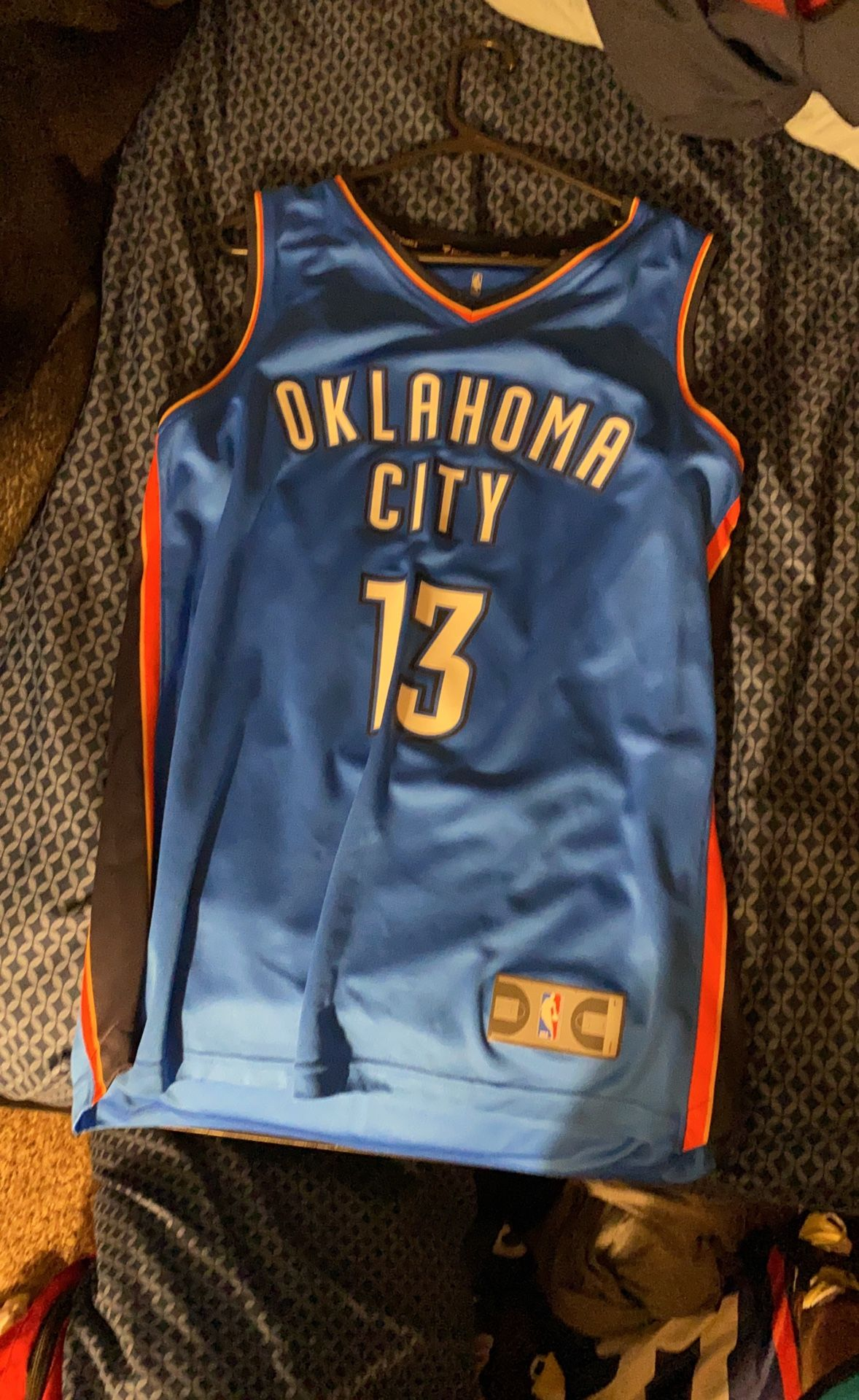 NBA Paul George OKC Jersey
