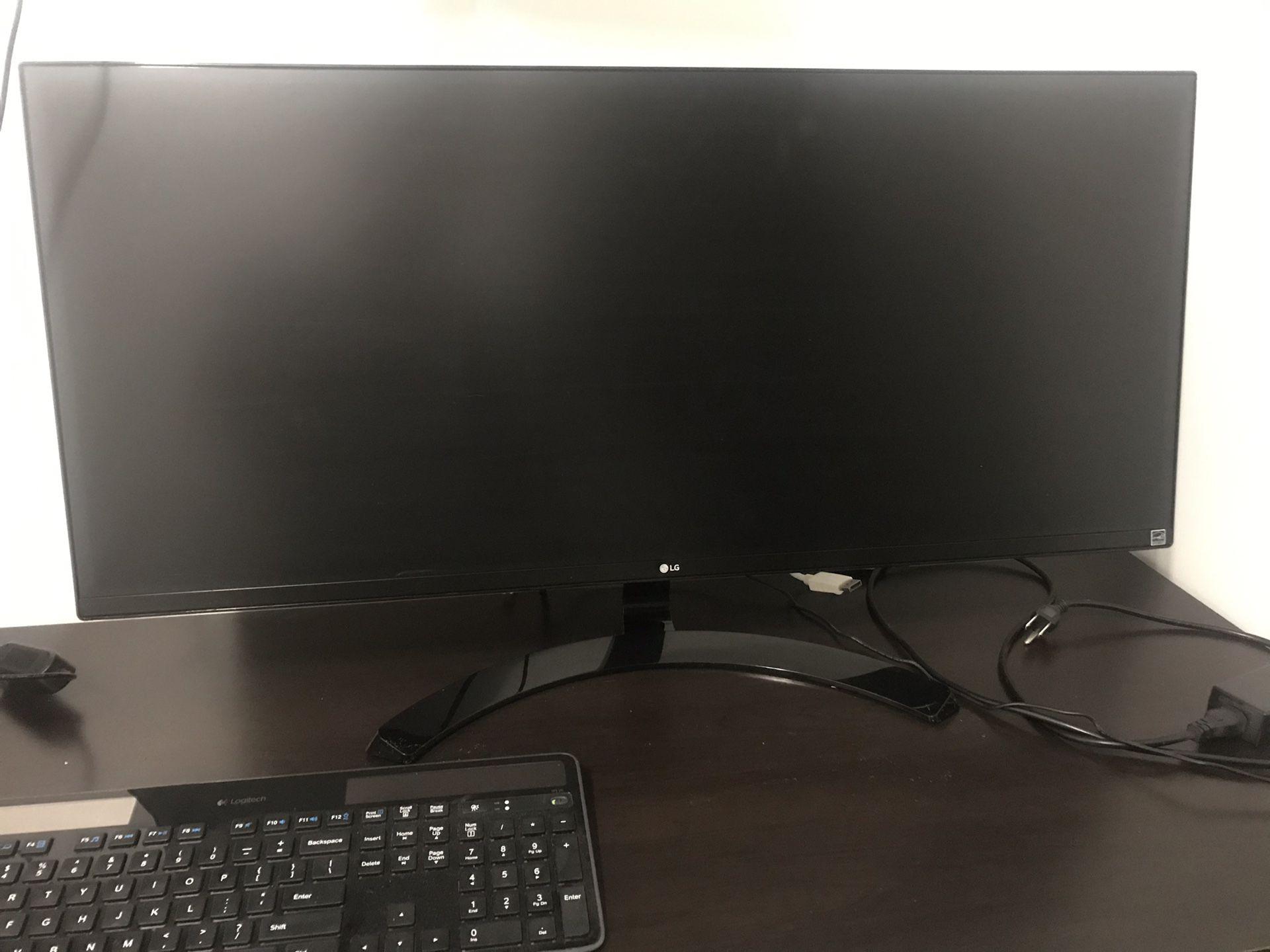 """LG 34um61 34"""" Class 21:9 UltraWide Full HD LED Monitor"""