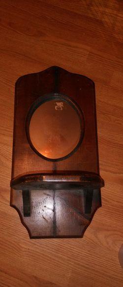 Vintage hurricane lamp holder Thumbnail