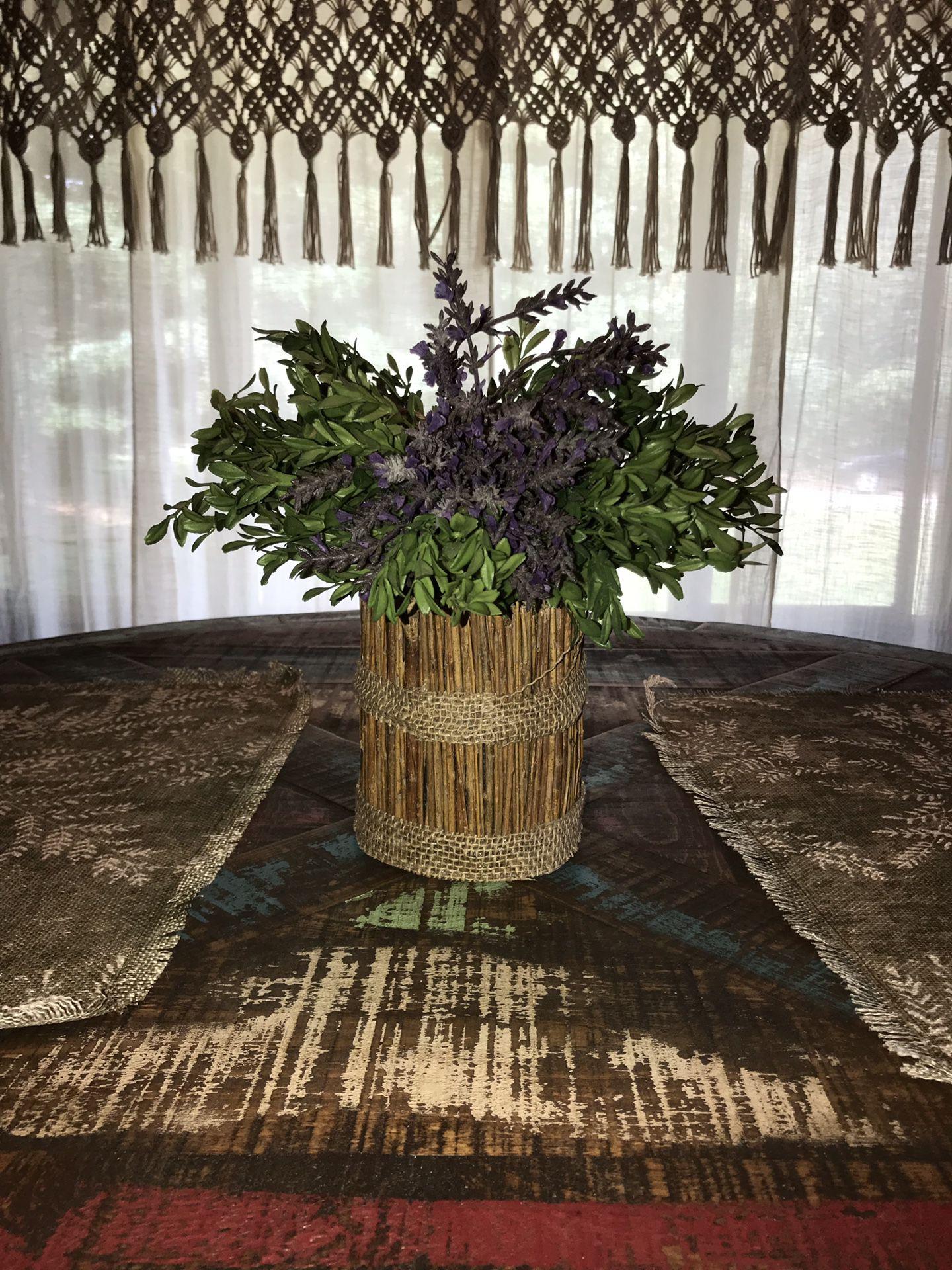 Lavender Topiary