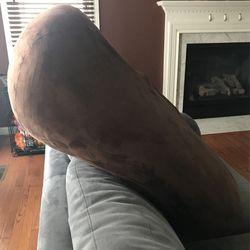 Big Brown And Fluffy Pillow Thumbnail