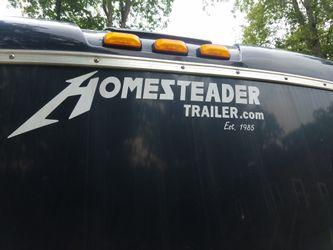 1984 dodge dump and 2012 trailer Thumbnail