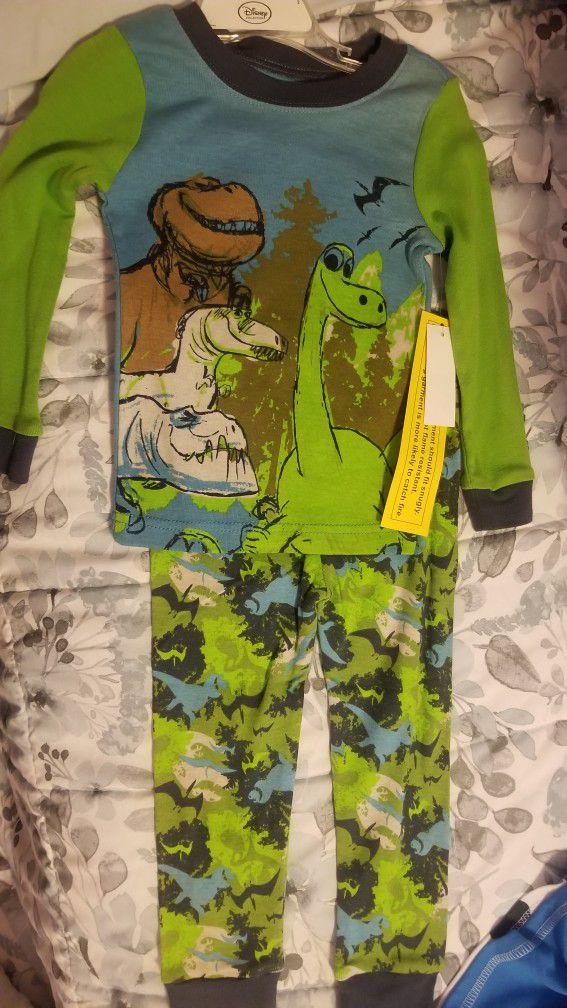 Olaf And Dinosaur Pijamas