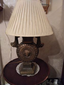 Vintage Solid Steel Lamps Thumbnail