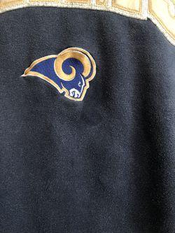 Vtg. Rams By Adidas Sweatshirt   Size Large Thumbnail